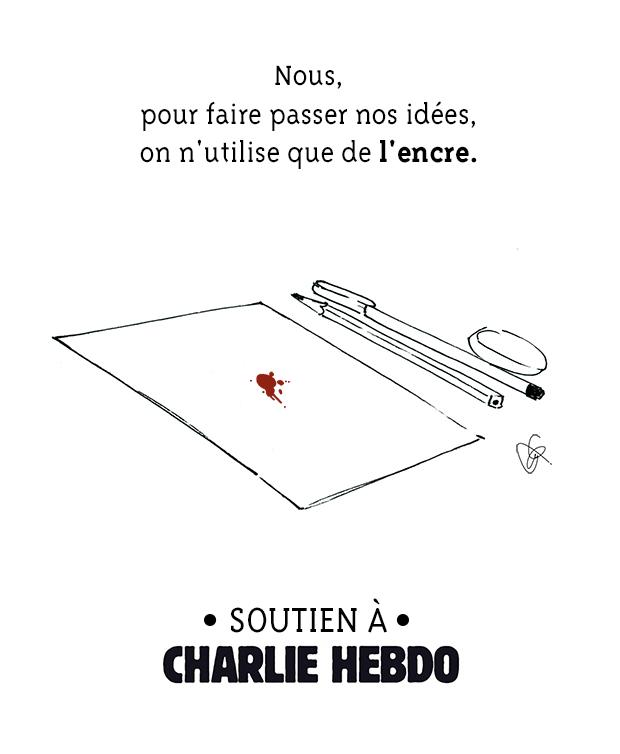 madmoiZelle et @YeahCy, en soutien à #CharlieHebdo. http://t.co/HIKjItH7fD