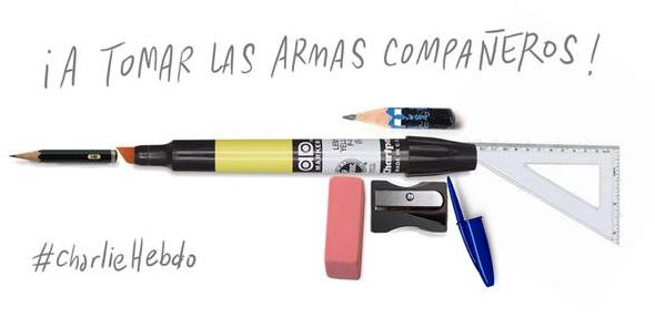 Les caricatures en réaction à la fusillade chez Charlie Hebdo http://t.co/adxNvQXGVC #CharlieHebdo http://t.co/yzgrb0FkRh