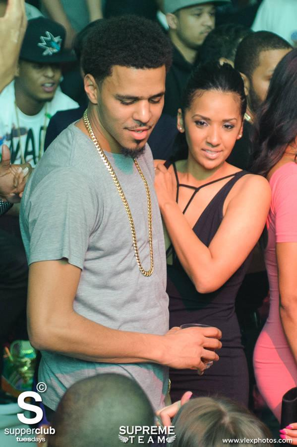 did j cole get engaged to his longtime girlfriend