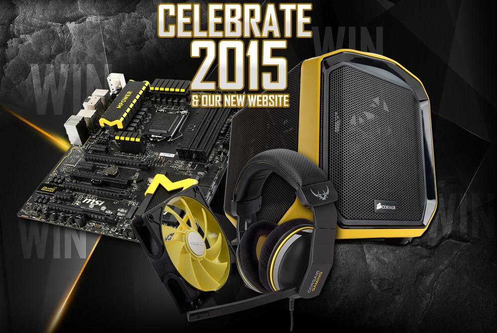 CELEBRATE 2015 & Our NEW Website! WIN Black N' Yellow Prizes: http://t.co/3zc6Va4pKL #Vortez #WinTechPrizes http://t.co/E7zkpv4S3m