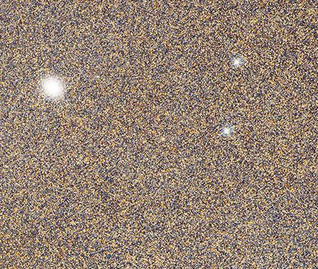 Seriously. Here's a tiny section of that Andromeda pic. That's not noise; *those are stars*. In another galaxy. http://t.co/IlAFyTSrzp