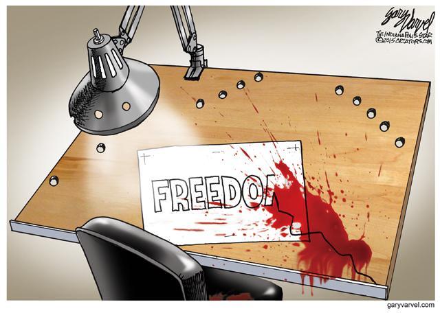 My response to the terror attack on #CharlieHebdo. http://t.co/TxQICVIUZs @indystar http://t.co/WhEgFVC7Ik