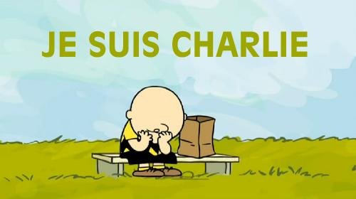 "Very powerful! ""@marissamcteague: This is the saddest one. ""A terrible day for all cartoonists. #JeSuisCharlie http://t.co/9dGwifobjf"""""