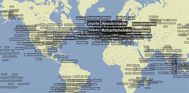 """Ils voulaient """"tuer Charlie Hebdo"""", c'est un échec, le monde entier parle de #JeSuisCharlie http://t.co/a3ue8M3OvY http://t.co/phMqZsSrPv"""