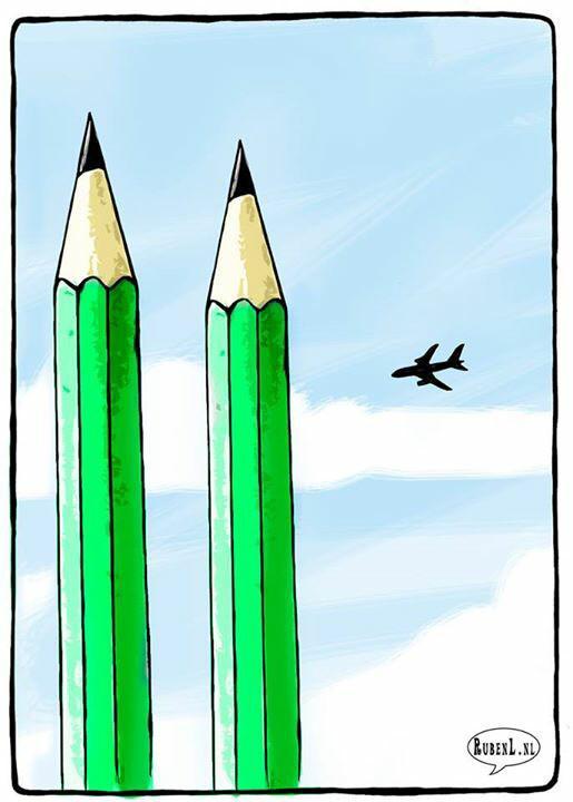 Dutch political cartoonist @RLOppenheimer weighs in powerfully on #CharlieHebdo. http://t.co/RGIGhmZUW9