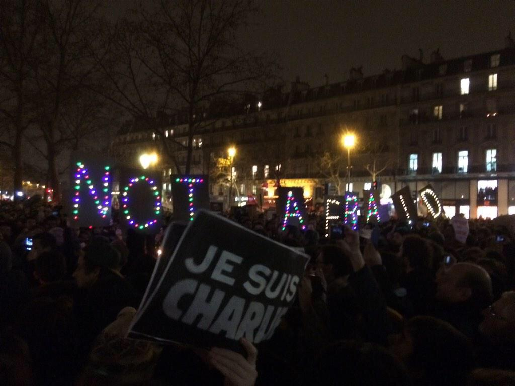 I admire France for their freedom & dedication to separation of church & state #JeSuisCharlie (image @cvillanove) http://t.co/ZXOVbSQtKO