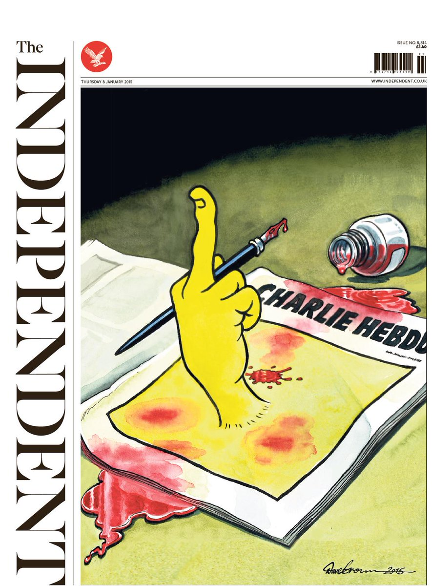 Independent has the best of the UK front pages (again) http://t.co/0d84uq7Jme