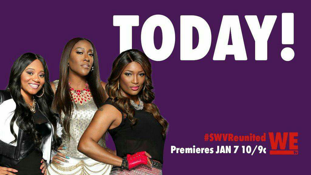 Ya'll ready!! #SWVReunited is on NOW on @wetv!! http://t.co/EizvLwk1Fb