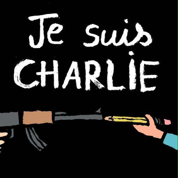 #JeSuisCharlie #CharlieHebdo #Enough #ÇaSuffit http://t.co/N2jcnJfeor