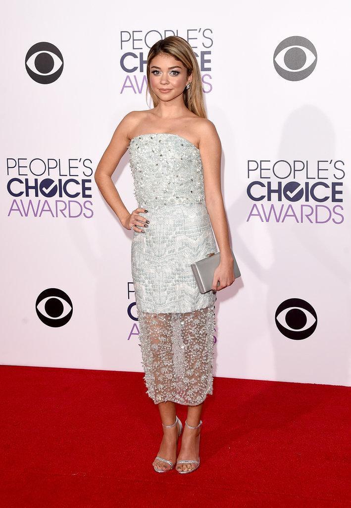 سارة هايلاند ترتدي فستان من كريستيان سيريانو ،، ما رأيك بإطلالتها في حفل #PeoplesChoiceAwards  http://t.co/yWdJ9aMSgF