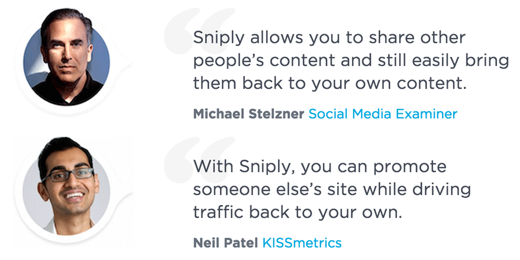 Grow Your Website Traffic: Add a Call-to-Action with Every Link You Share—Try Sniply 100% Free http://t.co/RykhNlRfFx http://t.co/yz9xbNX5uo