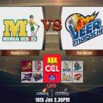 RT @ColorsTV: The opening match of #CCL is between @TheMumbaiHeroes & @veermarathi!  Get ready for action! @Riteishd @humasqureshi http://t…