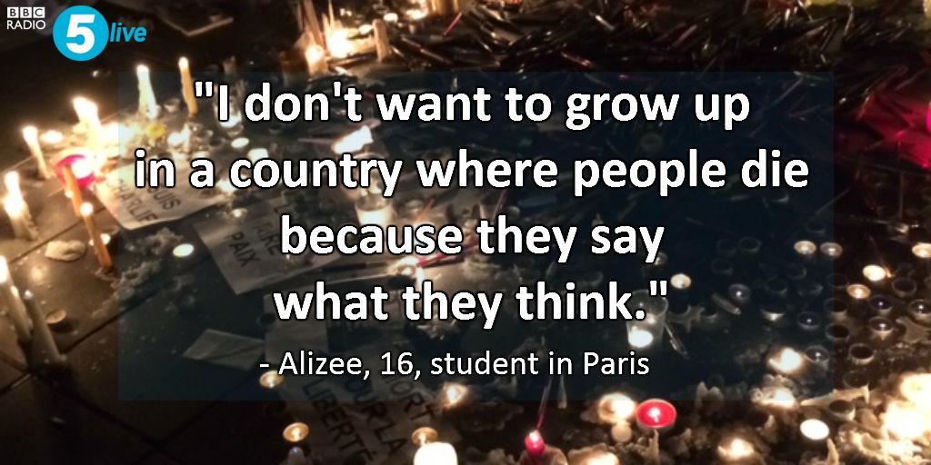 Thousands of vigils held last night for #CharlieHebdo victims http://t.co/UQMSd6bljf #JeSuisCharlie http://t.co/MU5Q00lqkL