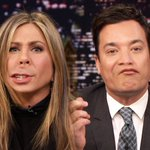 Jennifer Aniston with Jimmy Fallon's lips. Are you watching, Academy? http://t.co/ojvzoW5JVN http://t.co/nTbN263nHG