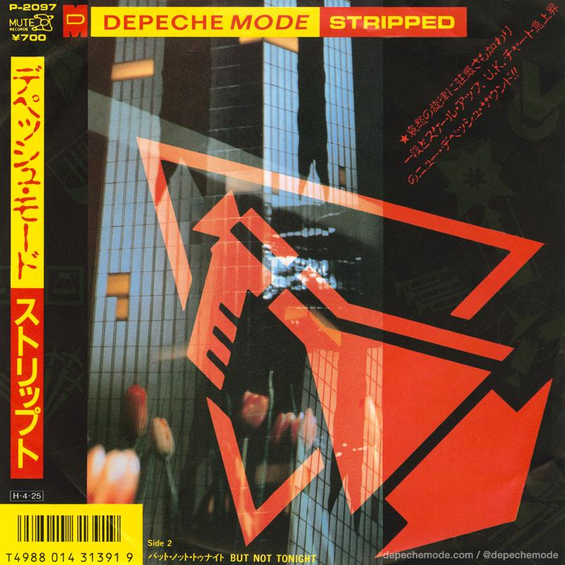 RT @depechemode: #DepecheMode 'Stripped'. #Japanese single. #DepecheModeArchives #tbt #ThrowbackThursday http://t.co/jGVdTjW8rq
