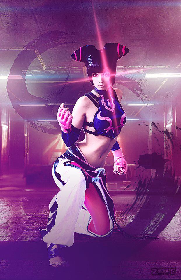 Juri (Street Fighter) par Zombie Bit Me #cosplay #capcom http://t.co/TEeANCbKVn