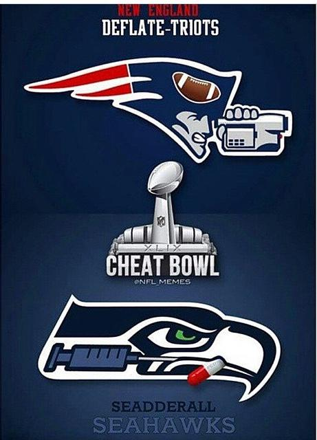 Don't know who created it but this is how you make a #deflategate meme. #CheatBowl http://t.co/D6Eo2NI44S