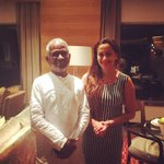 Unforgettable musical eve #Shamitabh. And what an honour to be on the stage with legends. Celebrating #IllayaRaja Sir http://t.co/OrG0A7jLLx