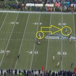 RT @wingoz: Ouch babe RT @RobDemovsky: Here's how much room Morgan Burnett had when Julius Peppers told him 'No Mas.'