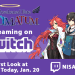 RT @NISAmerica: Hey doods! Come check out The Awakened Fate Ultimatum with us at 4pm PST on @Twitch! http://t.co/cJbEMKvHVq http://t.co/WOl…