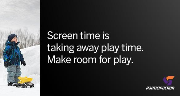 Can't connect to your child without a screen getting in the way? Set limits on screen time. #MakeRoomForPlay http://t.co/3LxbNHvELE