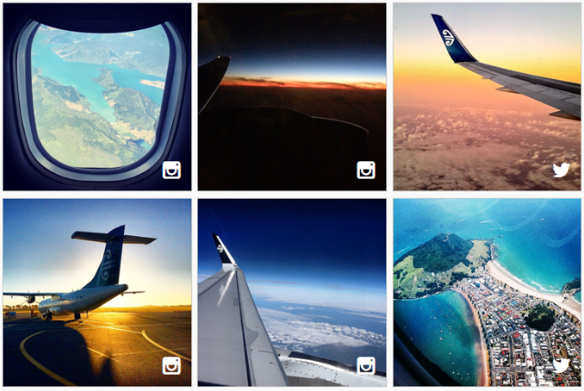 Check out some of the latest AirNZShareMe images you've shared with us!