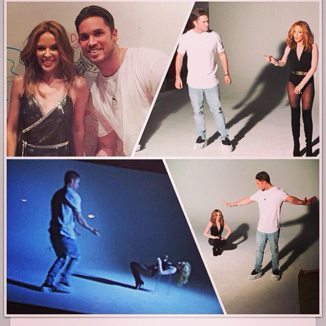 Congrats @blakemcgrath  on working with the amazing @kylieminogue and @giorgiomoroder  can't wait to see the video! http://t.co/VehTcFrPjO