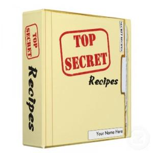 secret recipe interview conducted