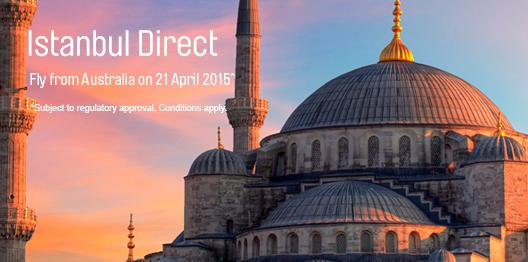 Istanbul, a city that will exceed your expectations. Fly direct on 21 April 2015: