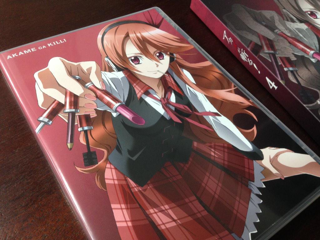 おはようございます!本日アカメBD&DVD vol.4発売です!昨日の続きでvol.4のご紹介☆スリーブをとると、さらに