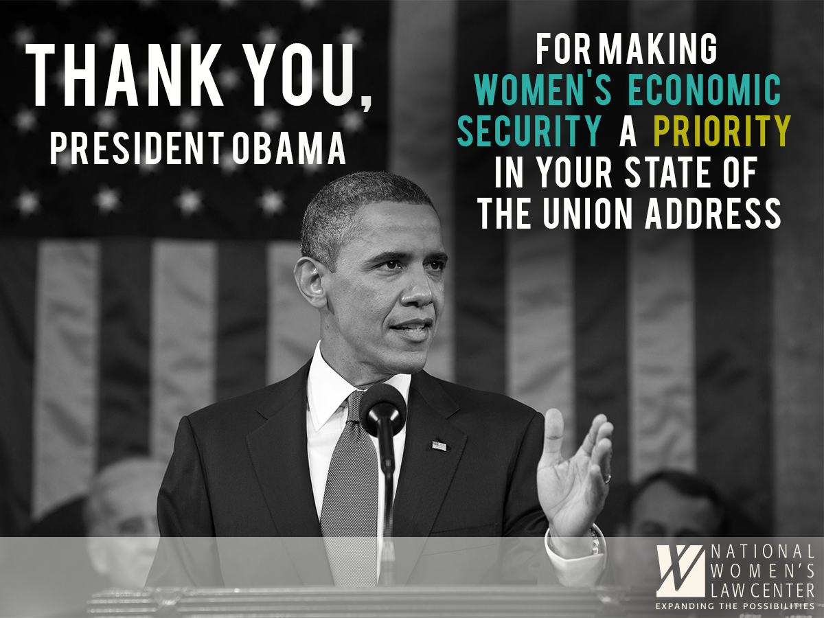 Women's issues are national issues. RT to thank the President for keeping them front and center in his #SOTU. http://t.co/m1TyXA5tHa