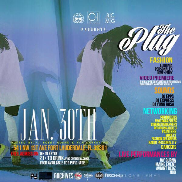 Jan 30. @JayBurna @MaineEventBCMG @Jigg305 performing live at #ThePlug Event!