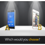 """@MTNza: If you could choose one, which would you choose? a). @SonyXperiaZA #Z3 b). #iPhone6 http://t.co/gkCywgh69i"" Sony Xperia Z3"