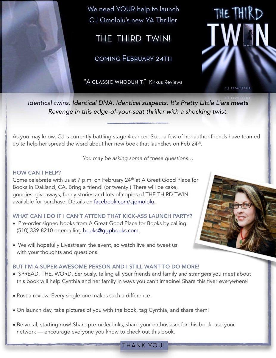 Please help spread the word! http://t.co/lFThcYlMjE