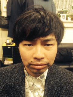 今夜のハマケンさんの髪型!before(左)→after(右)リーゼントに変身! #top954 http://t.co/nThJXbdJan
