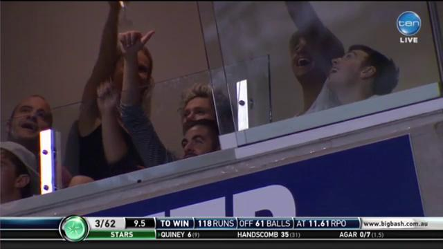 Enjoys a good night of entertainment @NiallOfficial #BBL04 http://t.co/PVTyv6LIj9