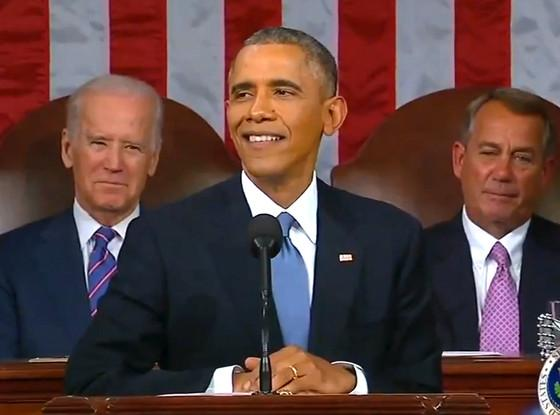Barack Obama didn't just deliver the SOTU last night--he delivered a sick burn too! Watch: