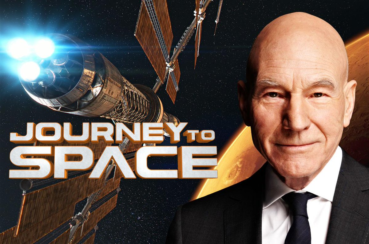 .@SirPatStew to narrate @NASA's 'trek' to Mars in giant-screen #JourneyToSpace: http://t.co/Fll2bJYNFT @jts3dfilm http://t.co/NCBVPGDunt