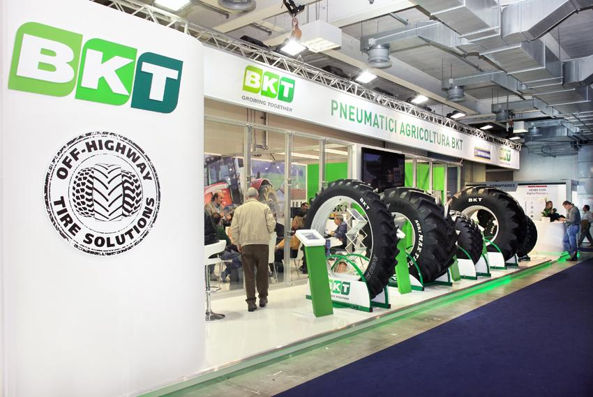 Here a picture of BKT stand at @EimaInt exhibition in #Bologna (Italy) of last November! #growingtogether #EIMA2014 http://t.co/lRWIkK9LY3