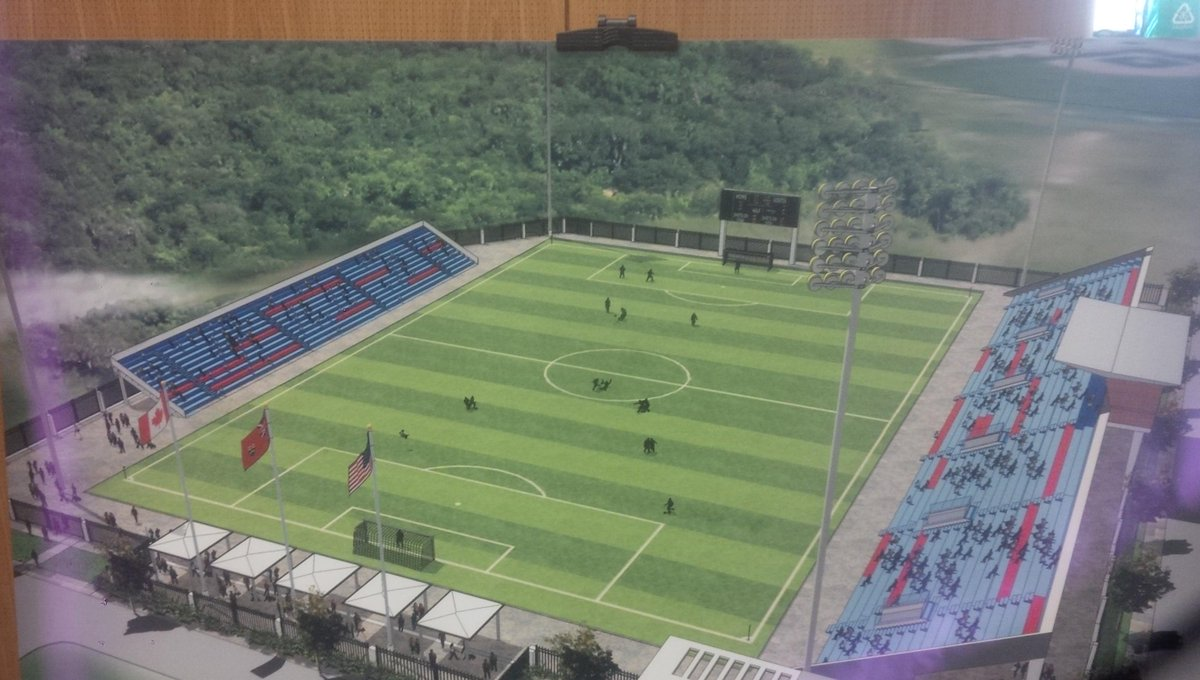 Have a look at what the new Ontario Soccer Centre field will look like - home to the new Toronto FC 2 http://t.co/Q4O1AycQKF