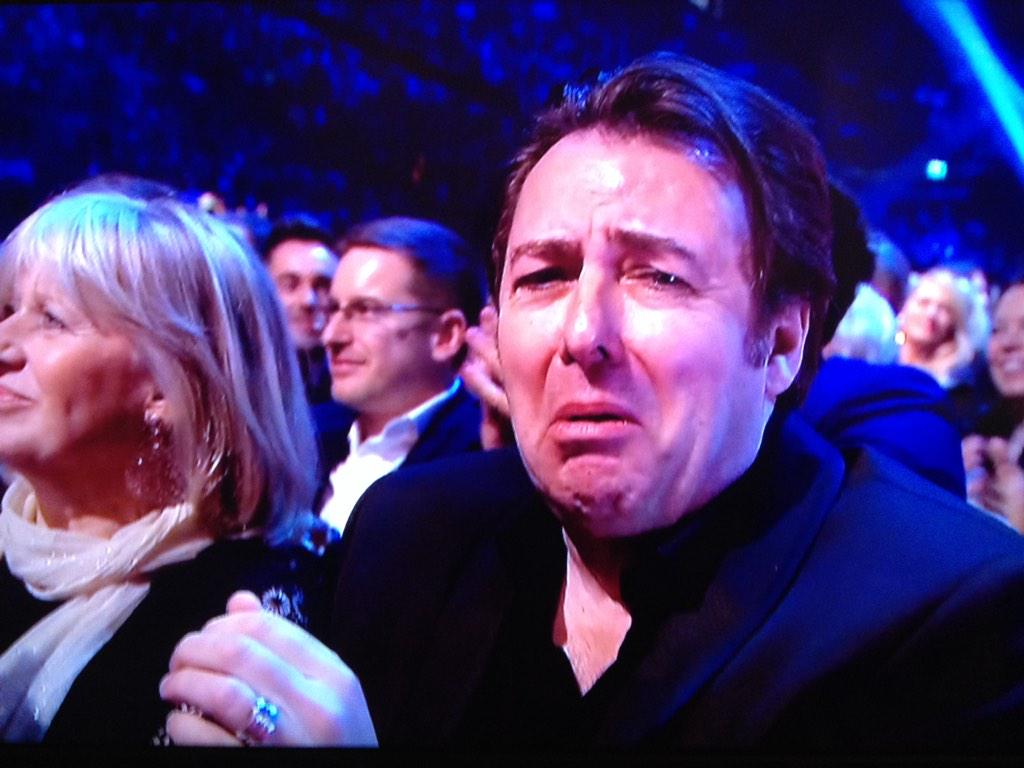 Well done to my follower @chattyman ! My darling @wossy awww don't cry @AlanCarr loves u... #NTAs @OfficialNTAs http://t.co/bD4HFchFAI