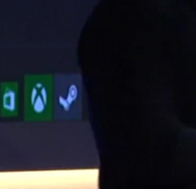 Steam logo next to Xbox app icon #Windows10 http://t.co/izcjllMJBH