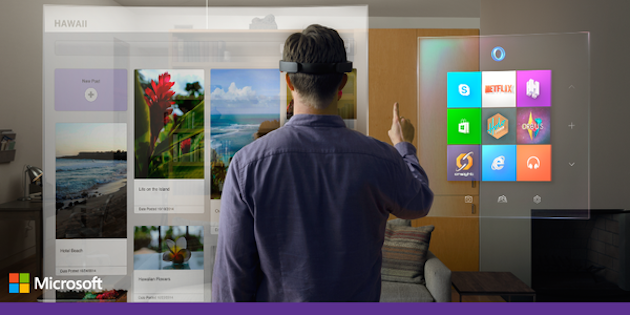 Windows Holographic is Microsoft's take on augmented reality http://t.co/KYrb2QauDZ http://t.co/reUlh8ZexH