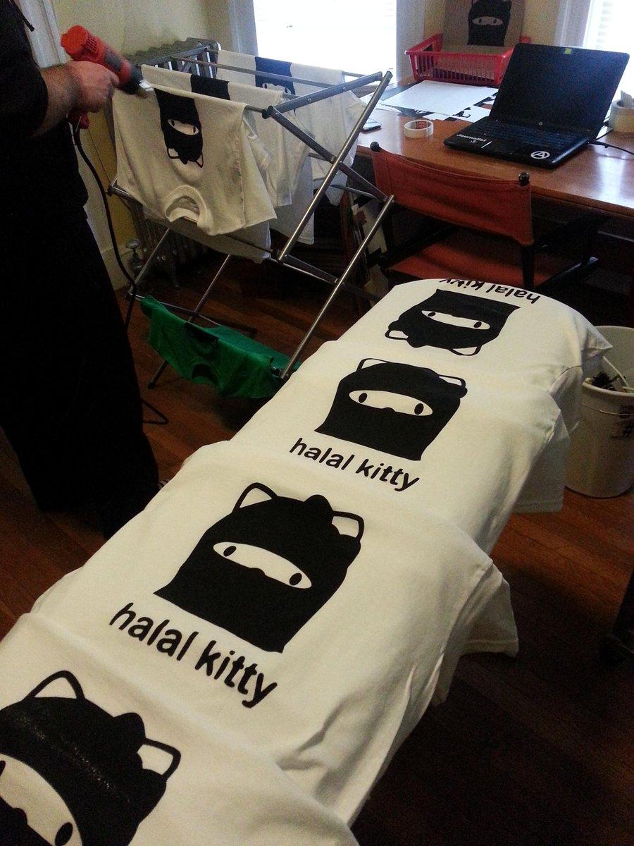 Fresh off the press... who wants one? #HalalKitty @der_bluthund @_shireenahmed_ @ProxyProphet http://t.co/wKMHLa94kA