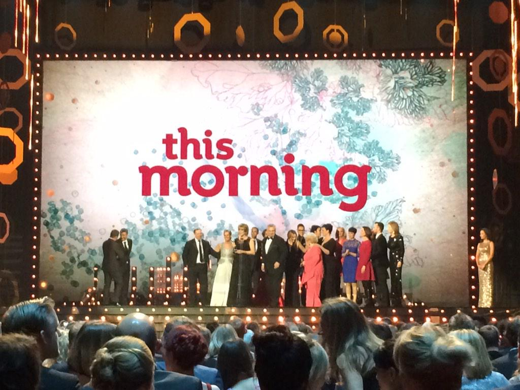 #proud #FiveInARow @itvthismorning THANK YOU