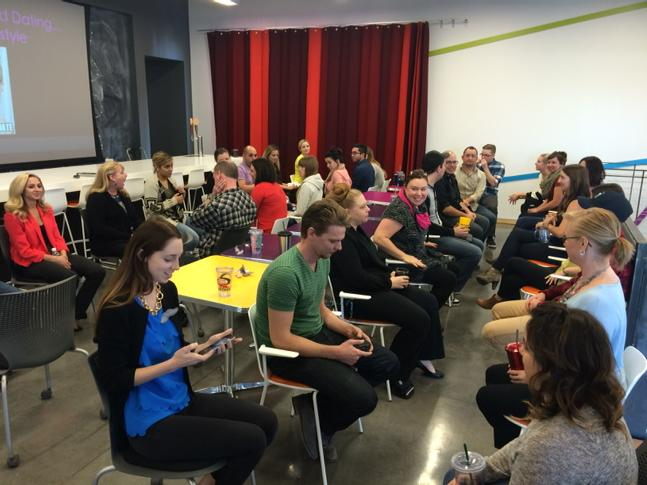 Our @ZIONandZION agency speed dating for our new team peeps! http://t.co/jHkeSidgWa