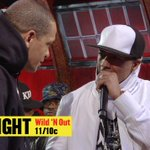 Nick and @IamPeterGunz go at it during the #Wildstyle TONIGHT on a BRAND NEW episode of #WildNOut at 11/10c on @MTV2!