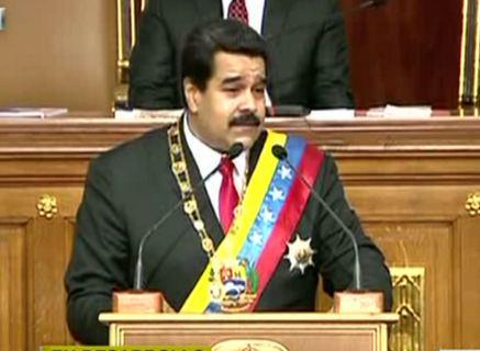 SuNoticiero (@SuNoticiero): ¡NO LO GOLPEA LA ESCASEZ! Maduro aparece con sobrepeso en la AN (FOTOS) http://t.co/cIfjVNUasg http://t.co/EoffQwZQNV