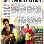 RT @teluguactores: @actor_Nikhil Bollywood Calling #Karthikeya -->( Article in Today DC Paper).