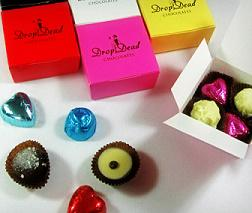 Who loves Chocolate ? Here's your chance to win some lovely goodies from @DropDeadChocs http://t.co/cI3CzgWhle http://t.co/Py1pq7CQ5T